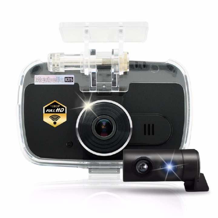 Marbella KR5 2H (FHD1080P+HD720P) Dual Cam Recorder