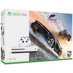 Microsoft – Xbox One S 1TB Forza Horizon 3 Console Bundle with 4K Ultra HD Blu-ray™ – White