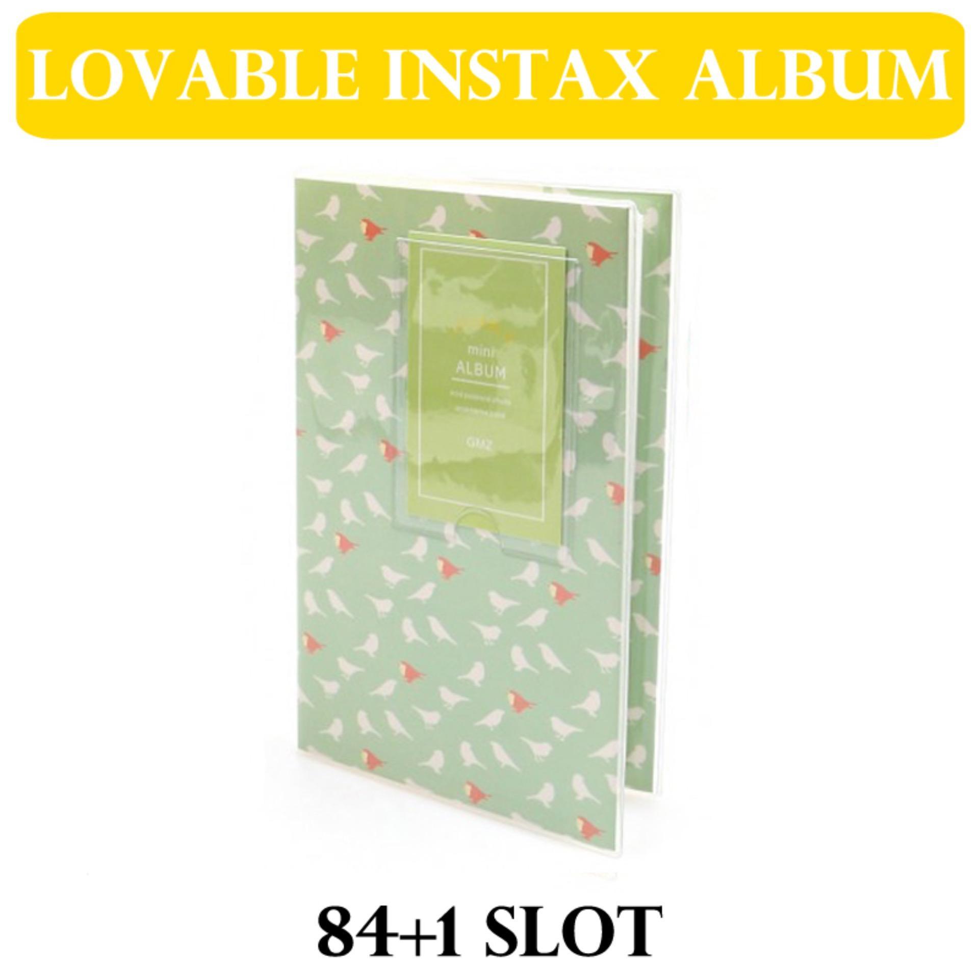 MINT BIRD Korea Style Lovable Instax Mini Album for mini film