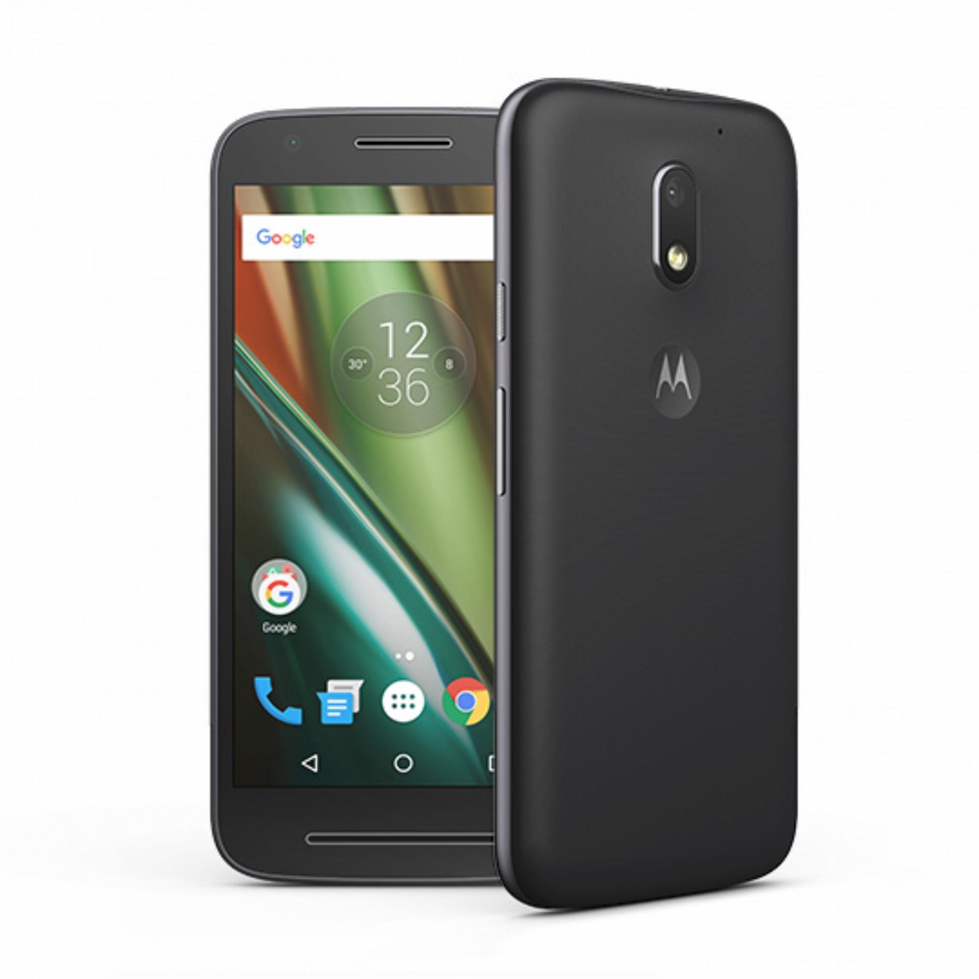 Motorola E3 Power 16GB / 2GB RAM (Black) Local Warranty