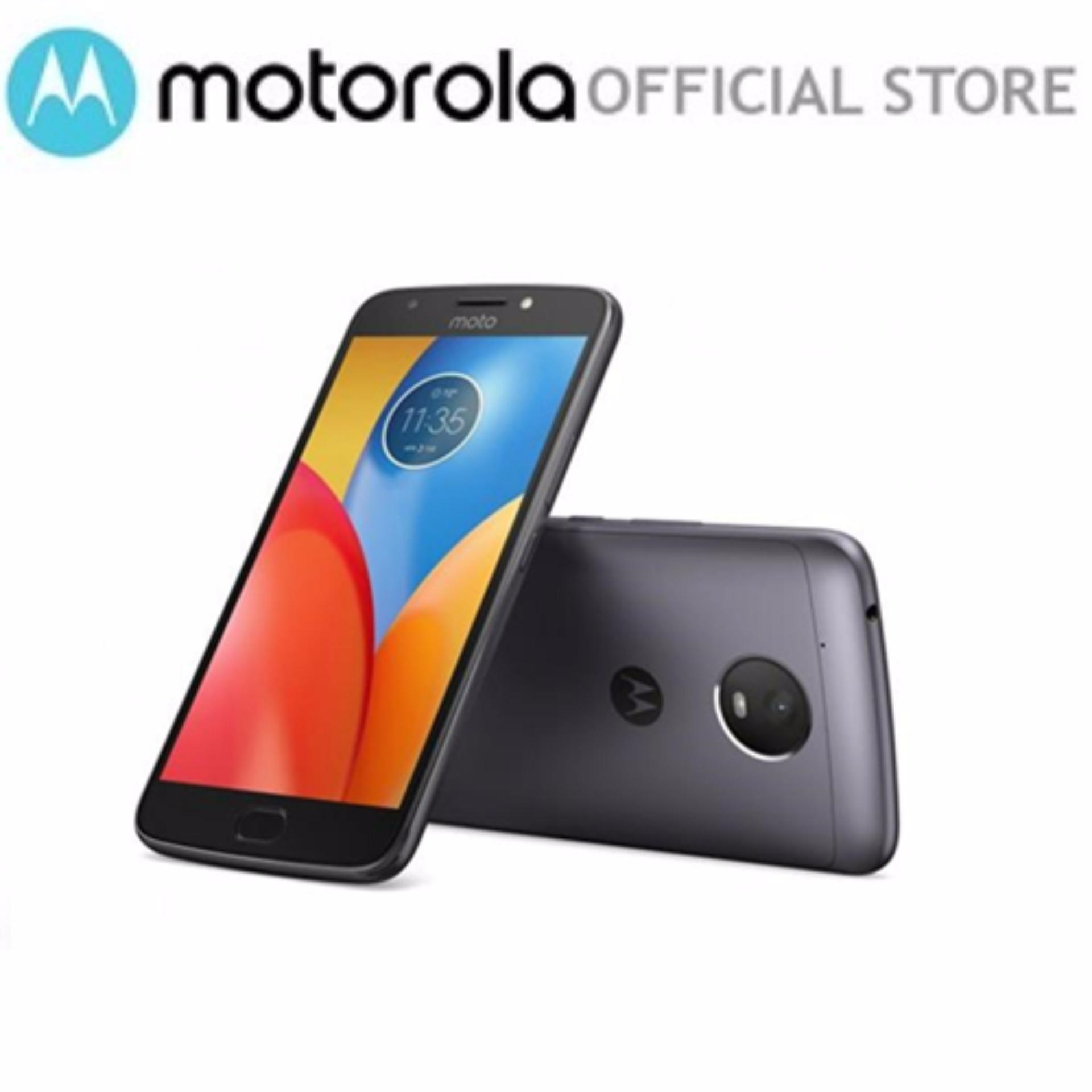 Motorola Moto E4 Plus 3G+32GB XT1770 Iron Grey 1 year local warranty