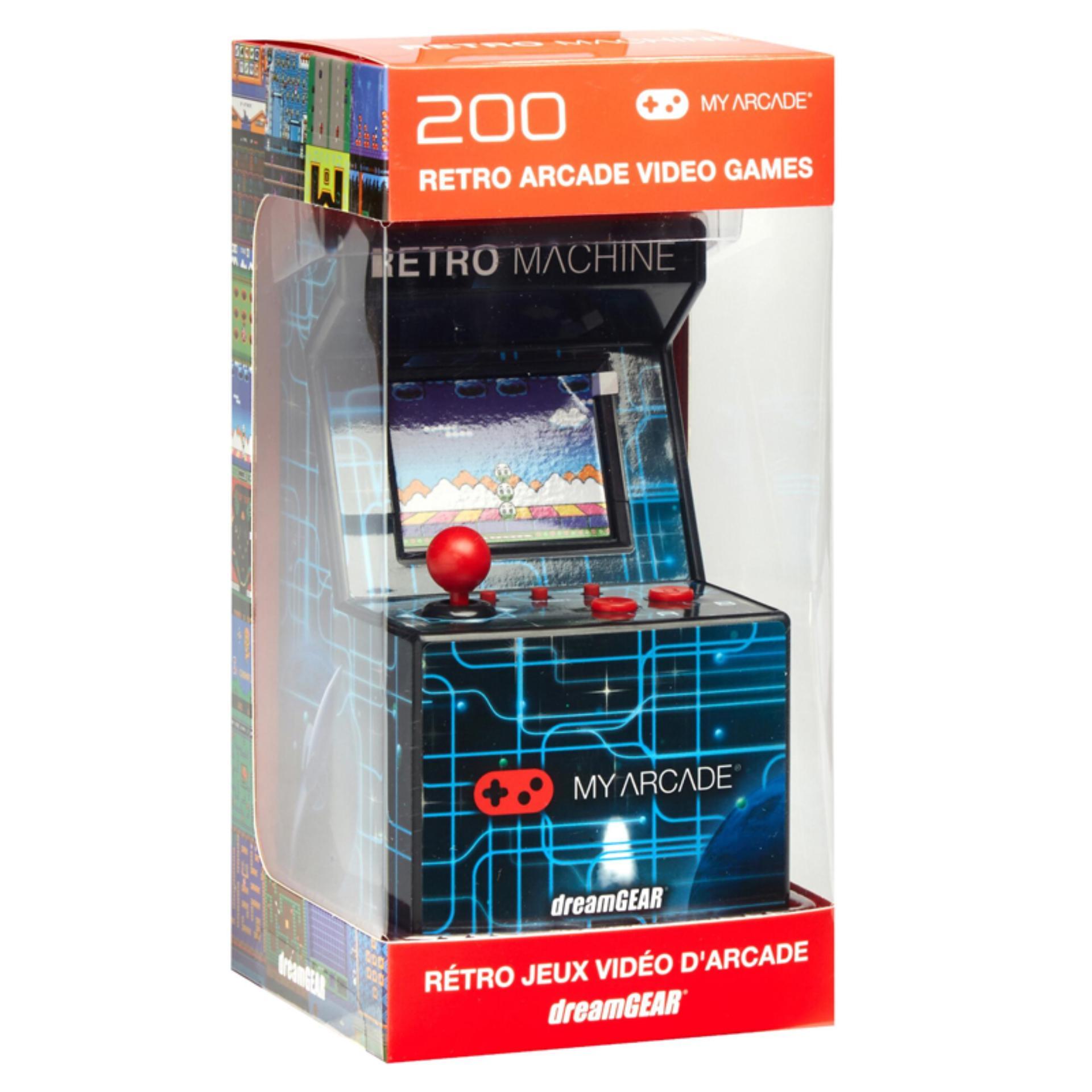 My Arcade Mini Retro Arcade 200 Built-in Video Games