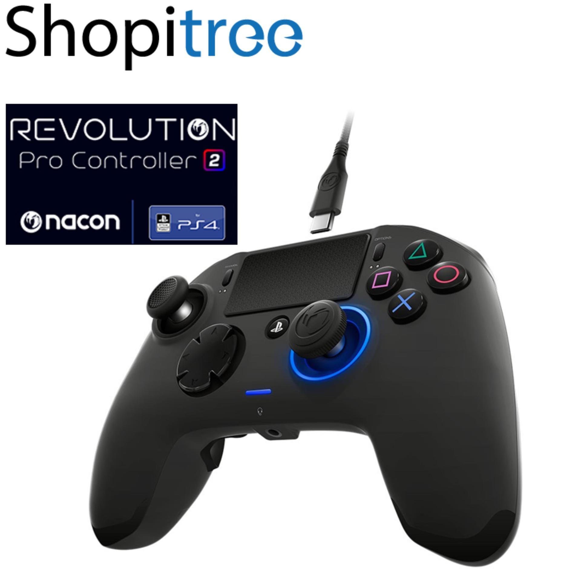 Nacon Revolution Pro Controller 2 for PS4 – Black