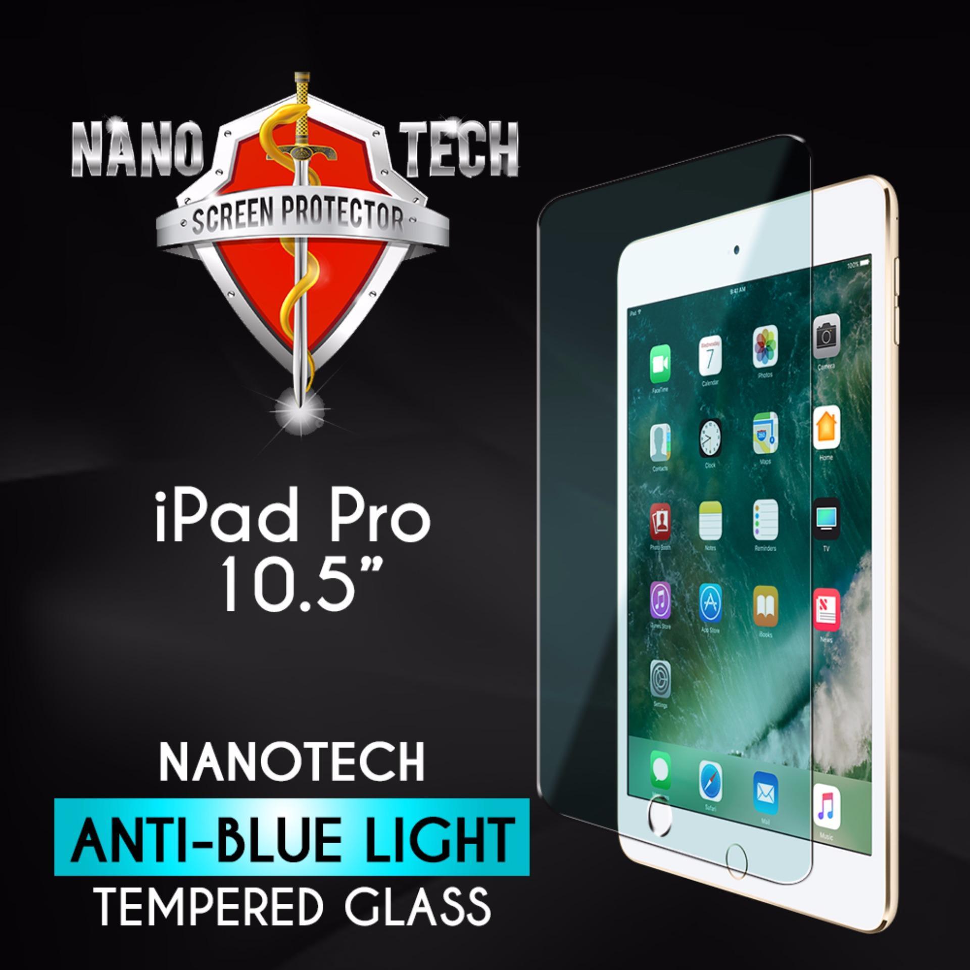 Nanotech iPad Pro 10.5″ Tempered Glass Screen Protector [Anti-blue light]