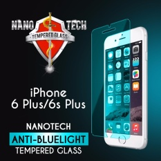 Nanotech iPhone 6 Plus / 6s Plus Anti-blue Light Tempered Glass Screen Protector [Blue Version][Non-full Coverage]