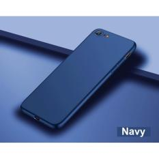 (Navy) Ultra Slim Matte Precise Fit Matte Case Casing Cover for iPhone 8 / iPhone 7