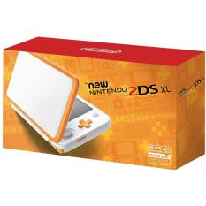 New 2dsxl (White X Orange)
