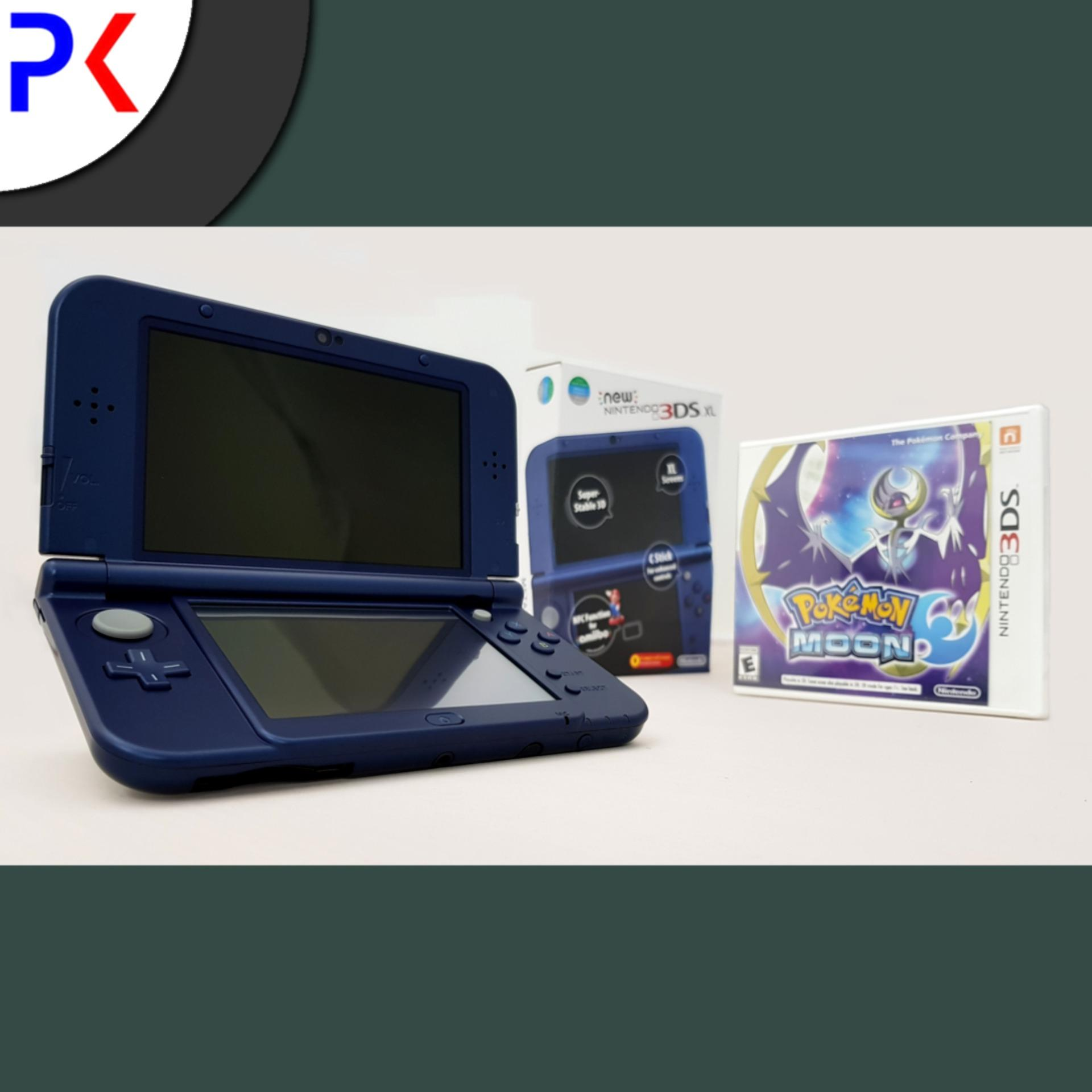 New 3DS XL (ASIA) + Pokemon Moon
