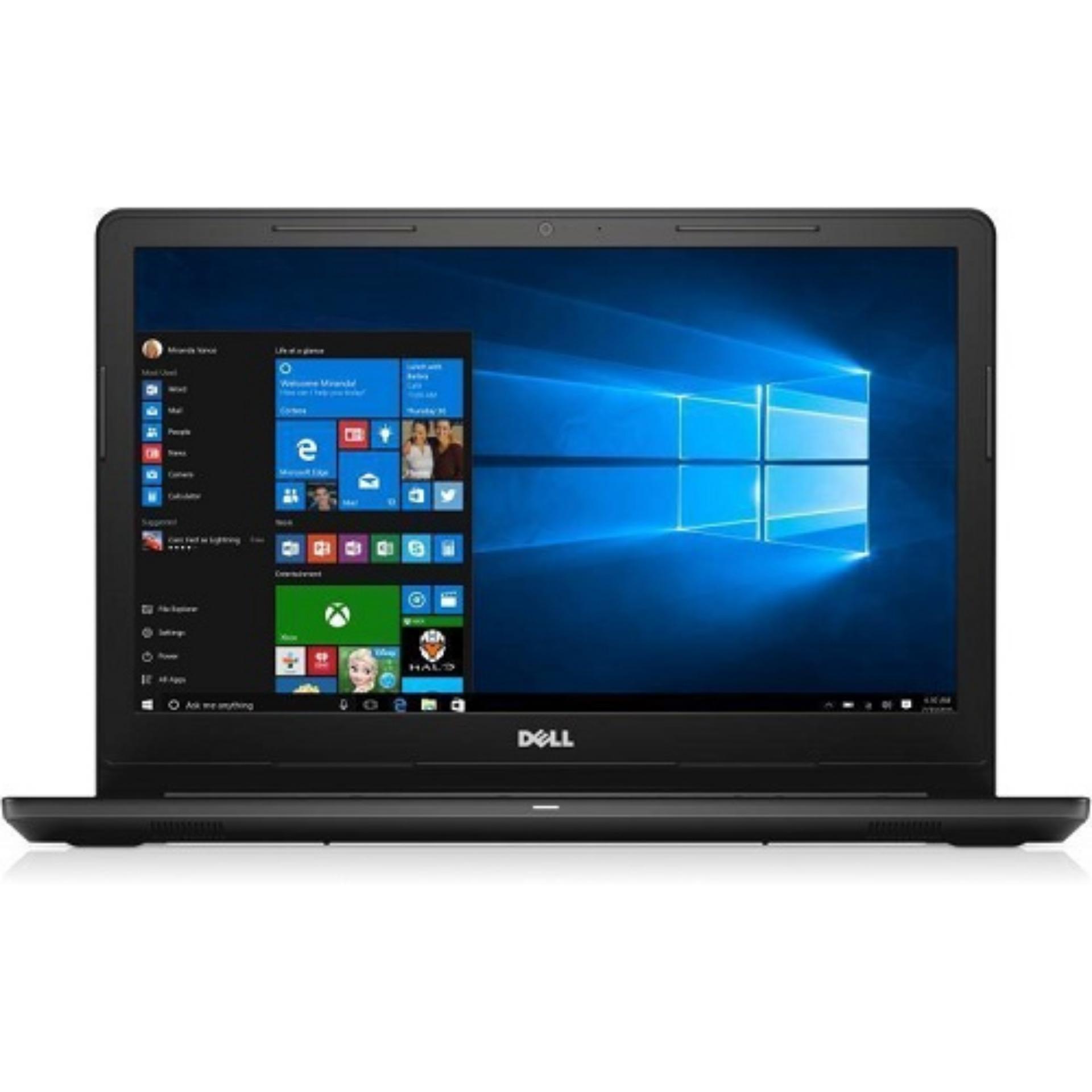 New INSPIRON 15 3000 SERIES 3567 6th Gen i3 6006U 4GB RAM 1TB Intel HD Graphics 520 graphics memory 15 inch display Windows10H LCD Back Cover for Black