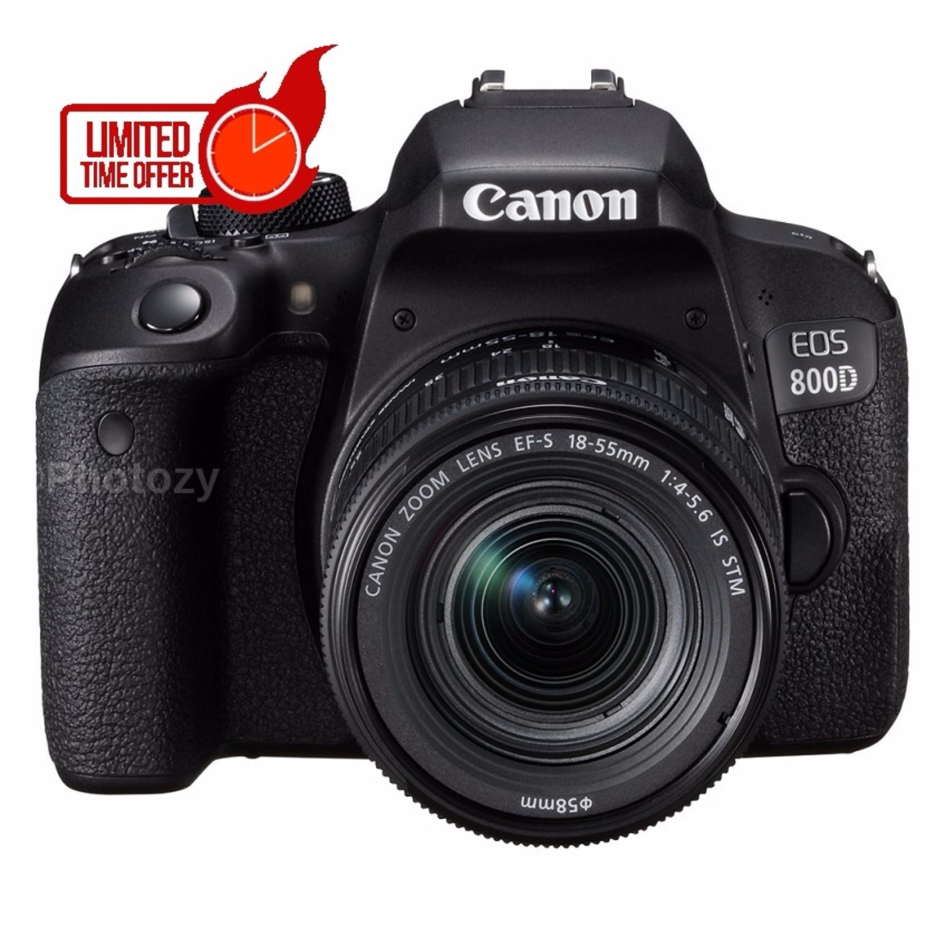 [NEW MODEL] Canon EOS 800D + EF-S 18-55mm IS STM Lens
