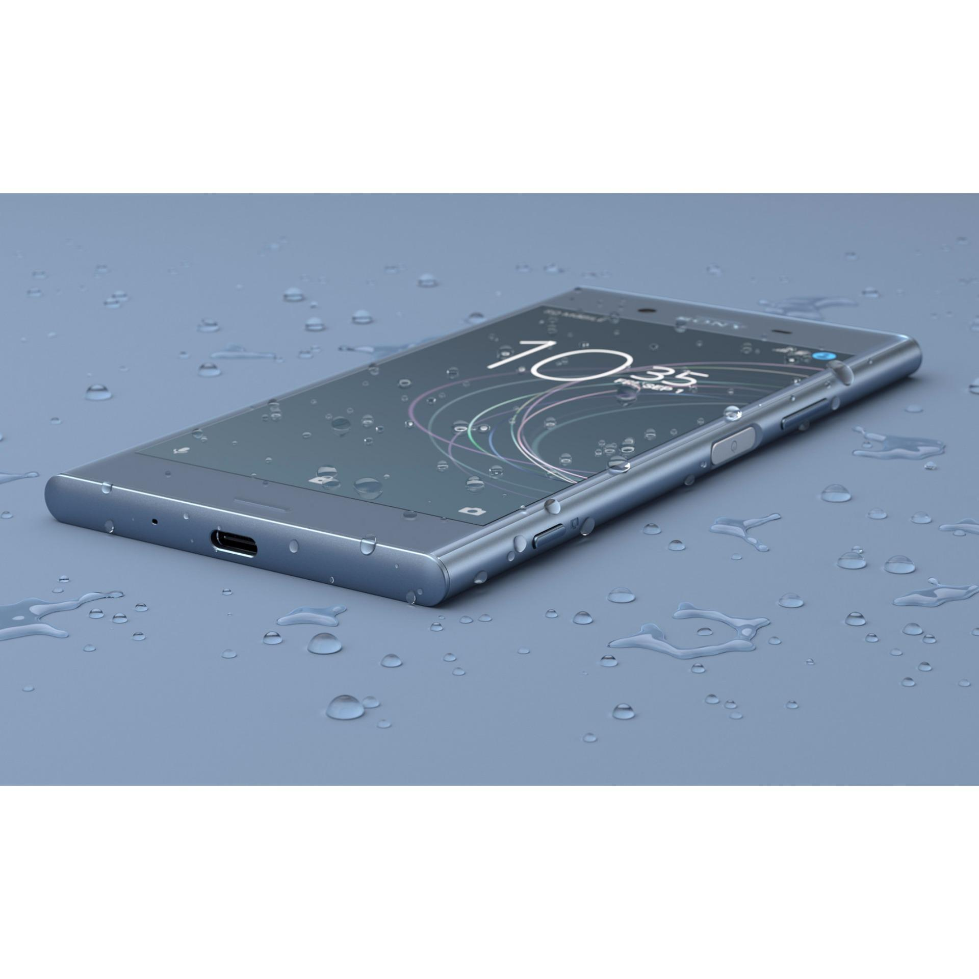 NEW MODEL !! SONY G8342 Xperia XZ1 4GB RAM/64GB - Moonlit Blue