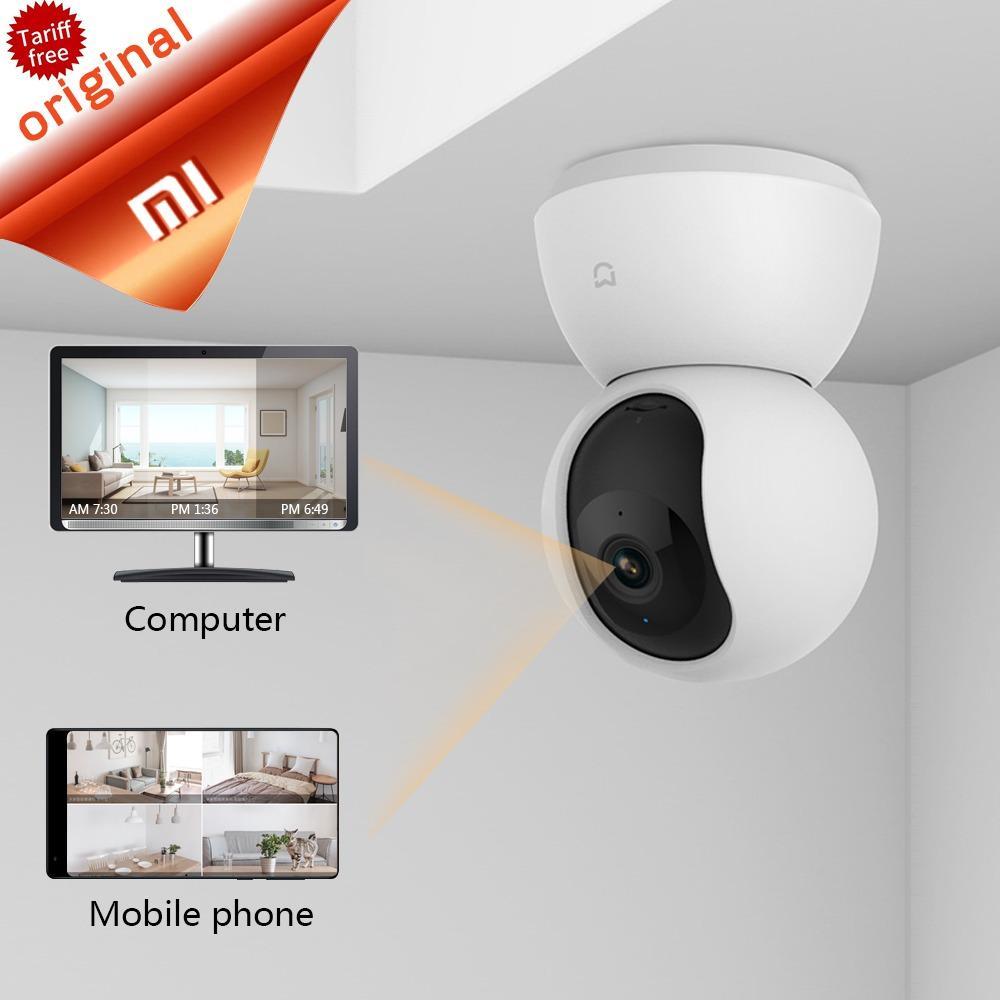 Newest Xiaomi Mijia Smart Cam Cradle Head Version 720P HD 360 Degree Night Vision Webcam IP Cam Camcorder Wifi In Stock