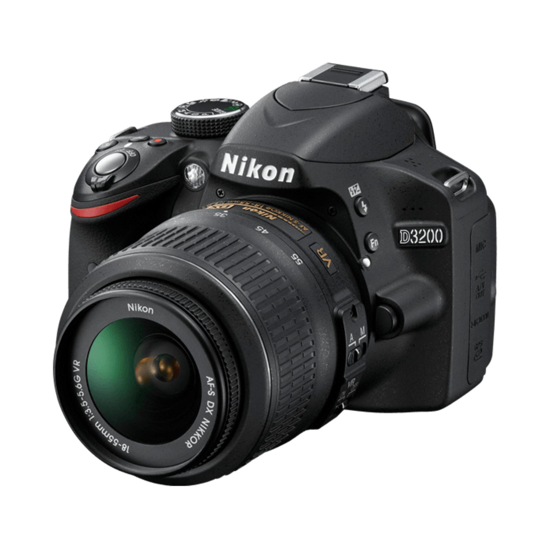 Nikon D3200 DSLR With 18-55mm Lens