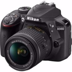 Nikon D3400 DSLR with 18-55mm + UV filter + Nikon Promotion (Please note that price is after Cash back)