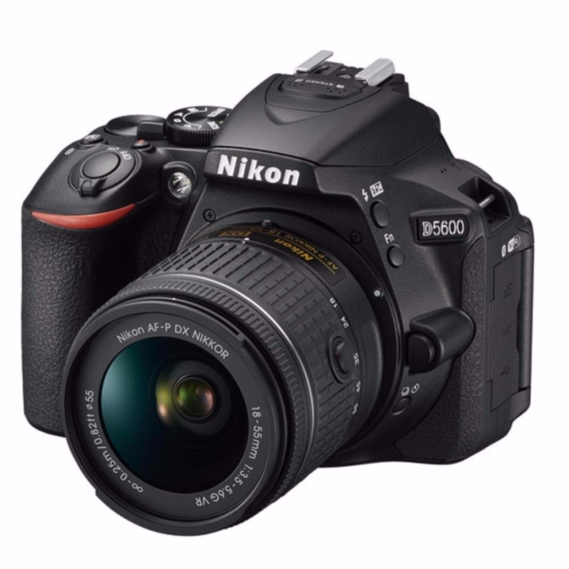 Nikon D5600 + AF-P 18-55mm f3.5-5.6G VR kit set export only(Black)