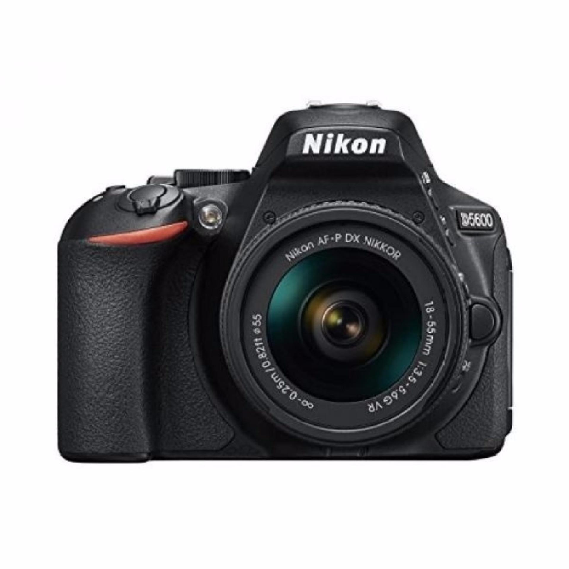 Nikon D5600 DSLR Camera with 18-55mm +70-300mm G twin Lens kit export only(Black)