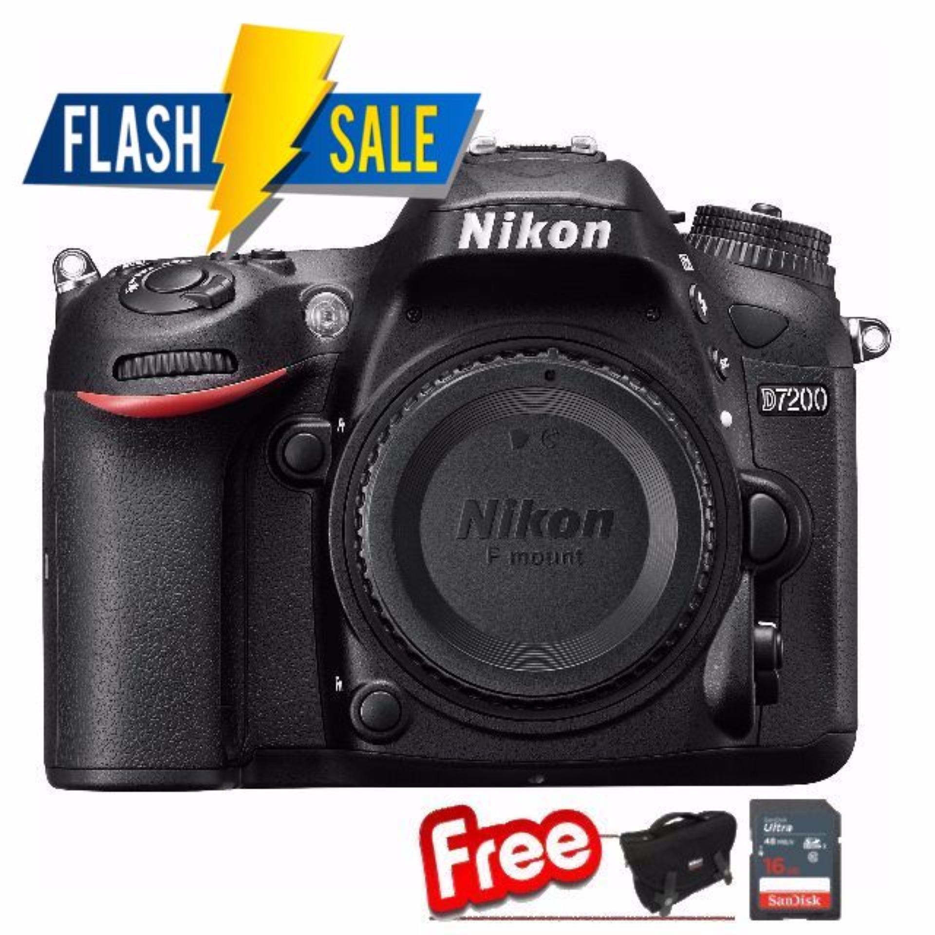 Nikon D7200 Body (Black)