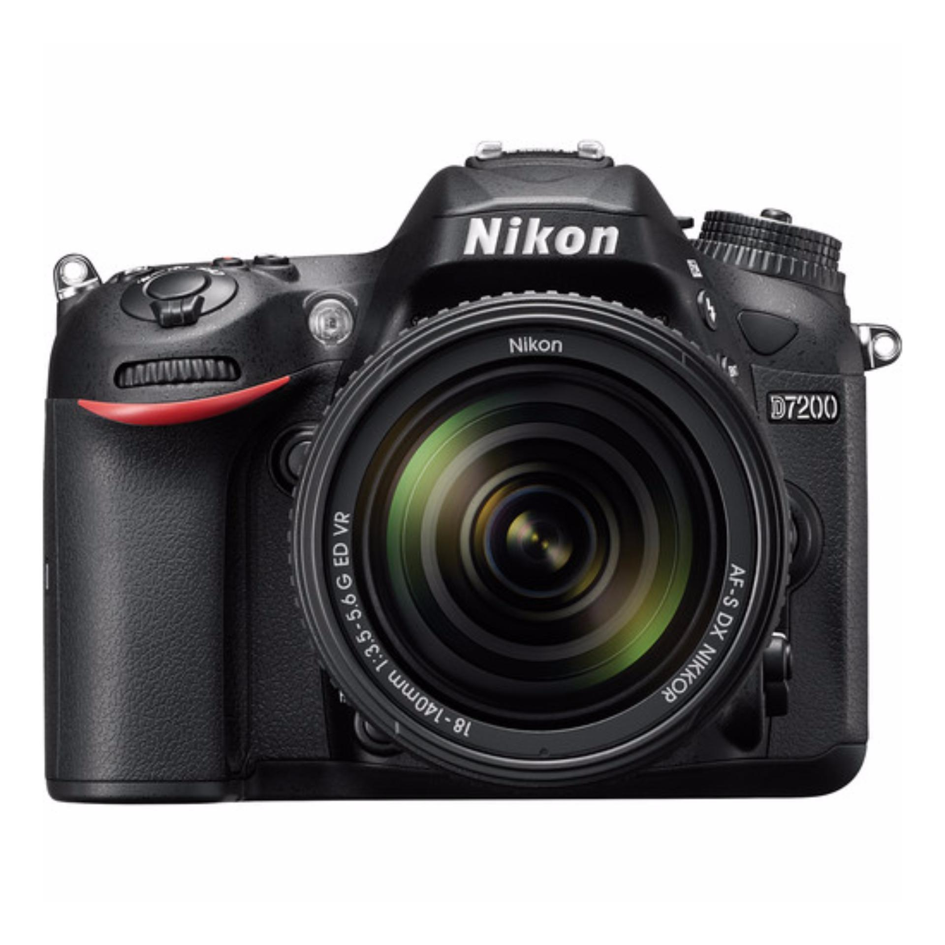 Nikon D7200 DSLR Camera with 18-140mm Lens export only