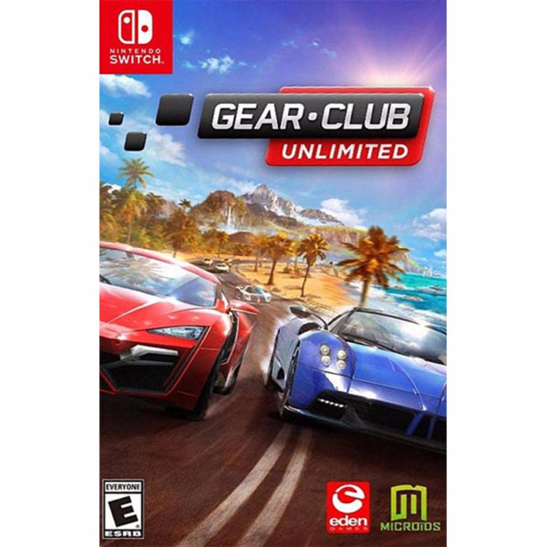 Nintendo Switch Gear Club Unlimited