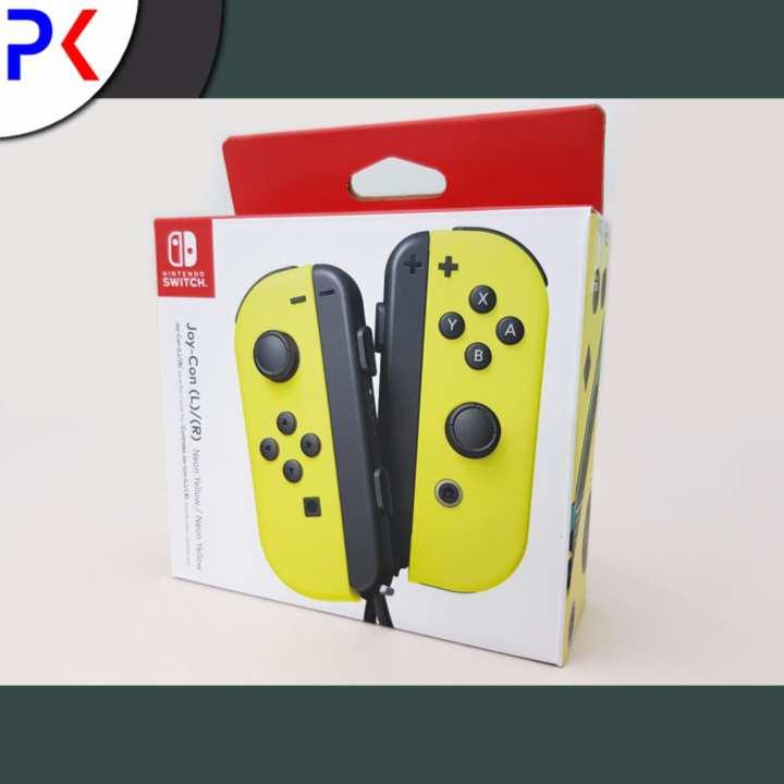 Nintendo Switch Joy-Con Controller – Neon Yellow