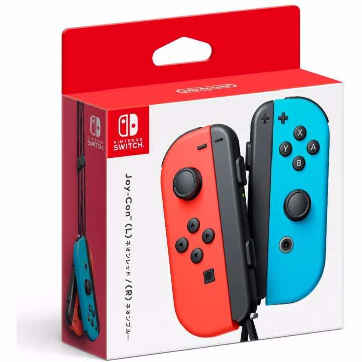 Nintendo Switch Joy-Con Controllers – (L) Neon Blue / (R) Neon Red