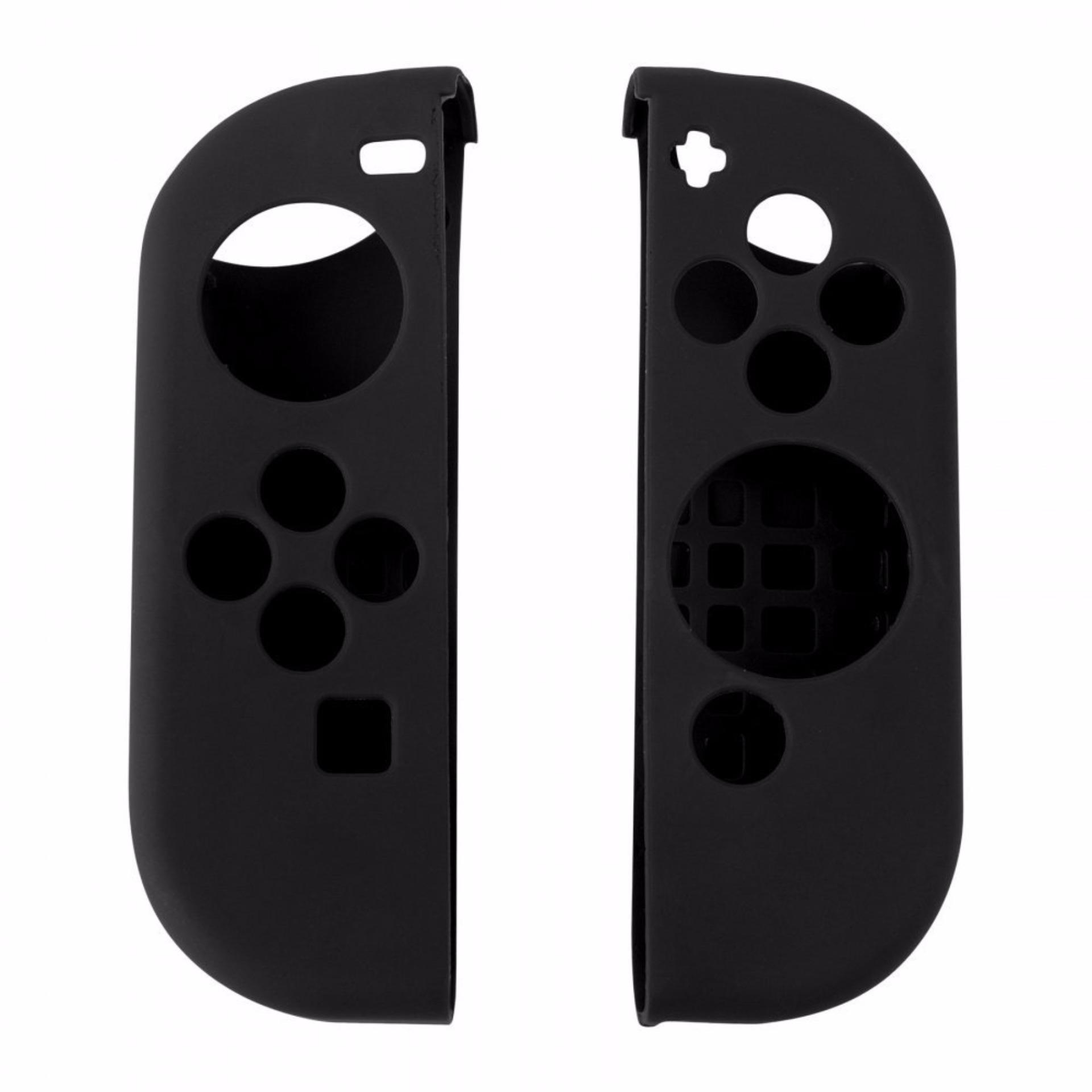 Nintendo Switch Joy-con Soft Gel Guards 1 Pair (Black)