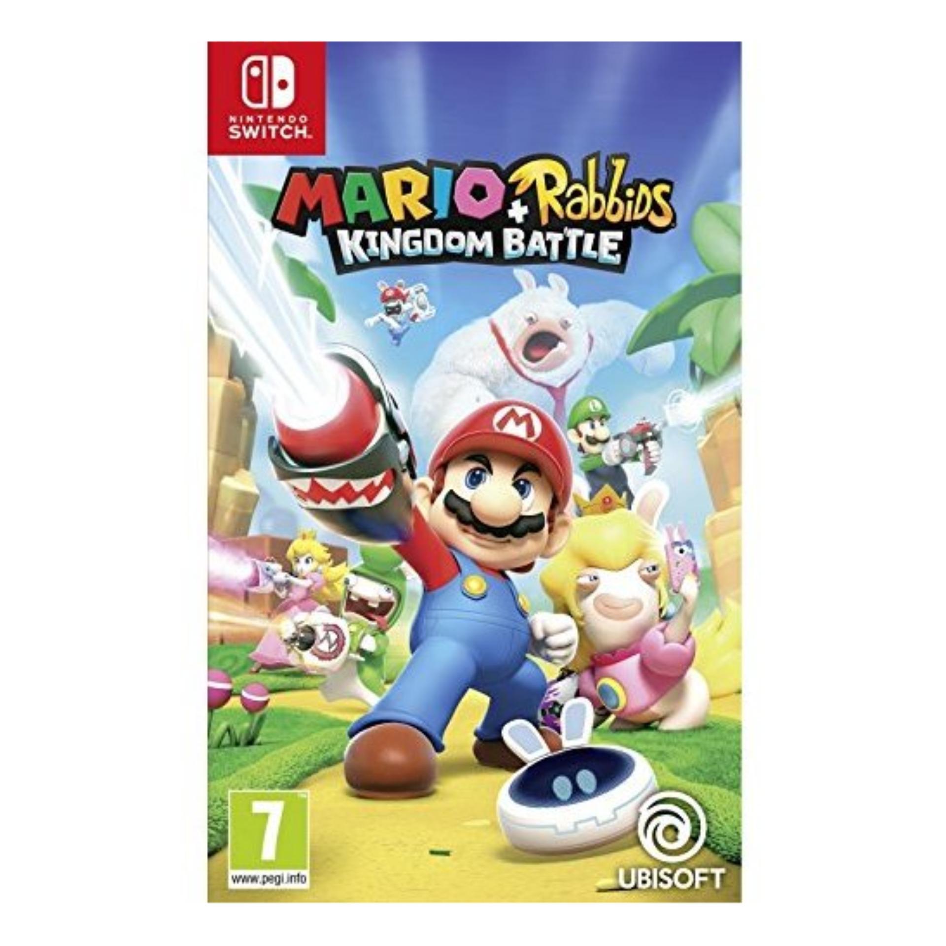 Nintendo Switch Mario + Rabbids : Kingdom Battle (English)
