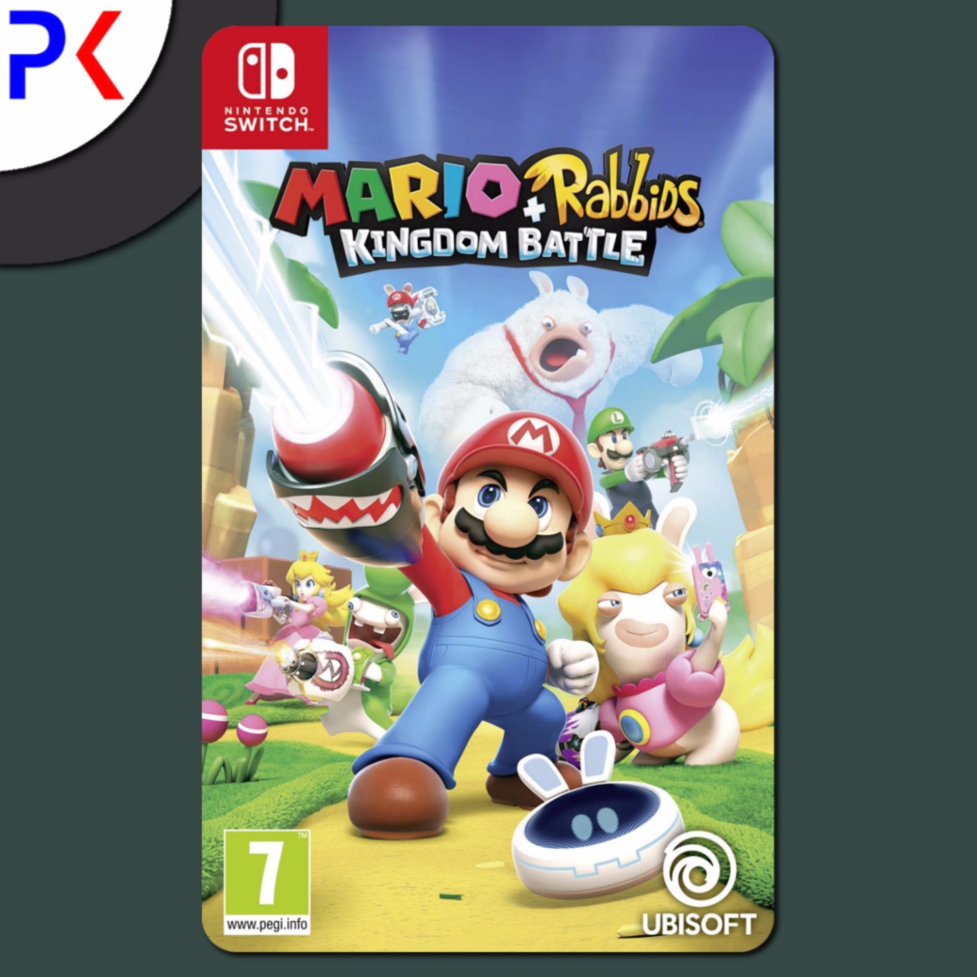 Nintendo Switch Mario + Rabbids Kingdom Battle (EU)