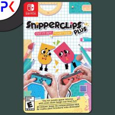 Nintendo Switch Snipperclips Plus – Cut it out, together! (EU)