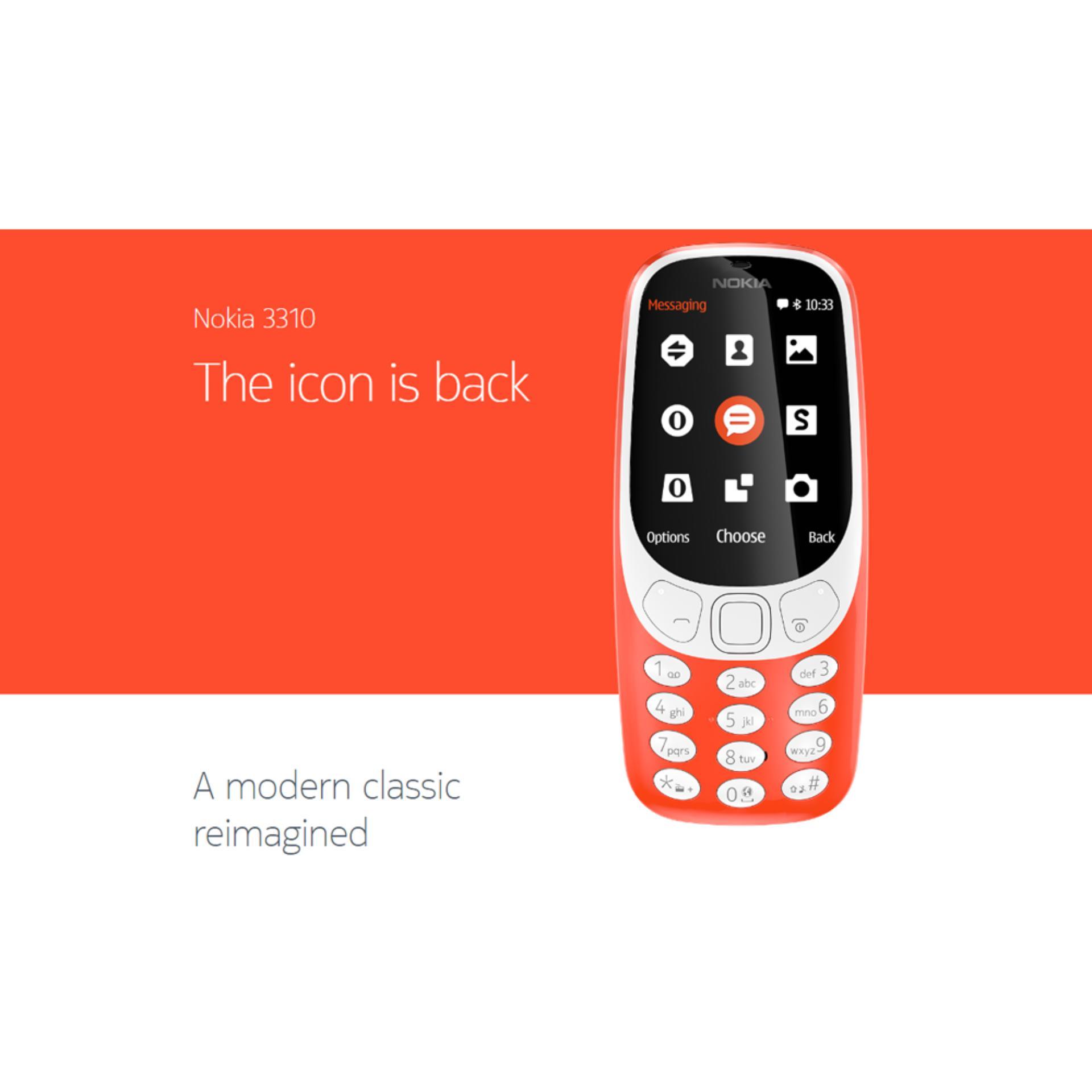 Nokia 3310 (Local Set with 1 Yr Warranty)