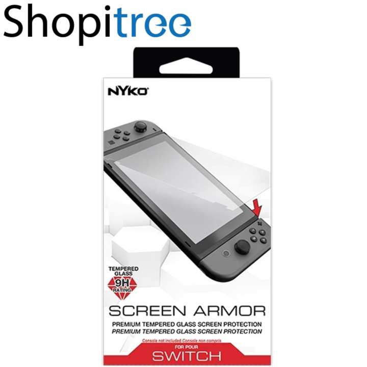 Nyko Screen Armor Tempered Glass for Nintendo Switch