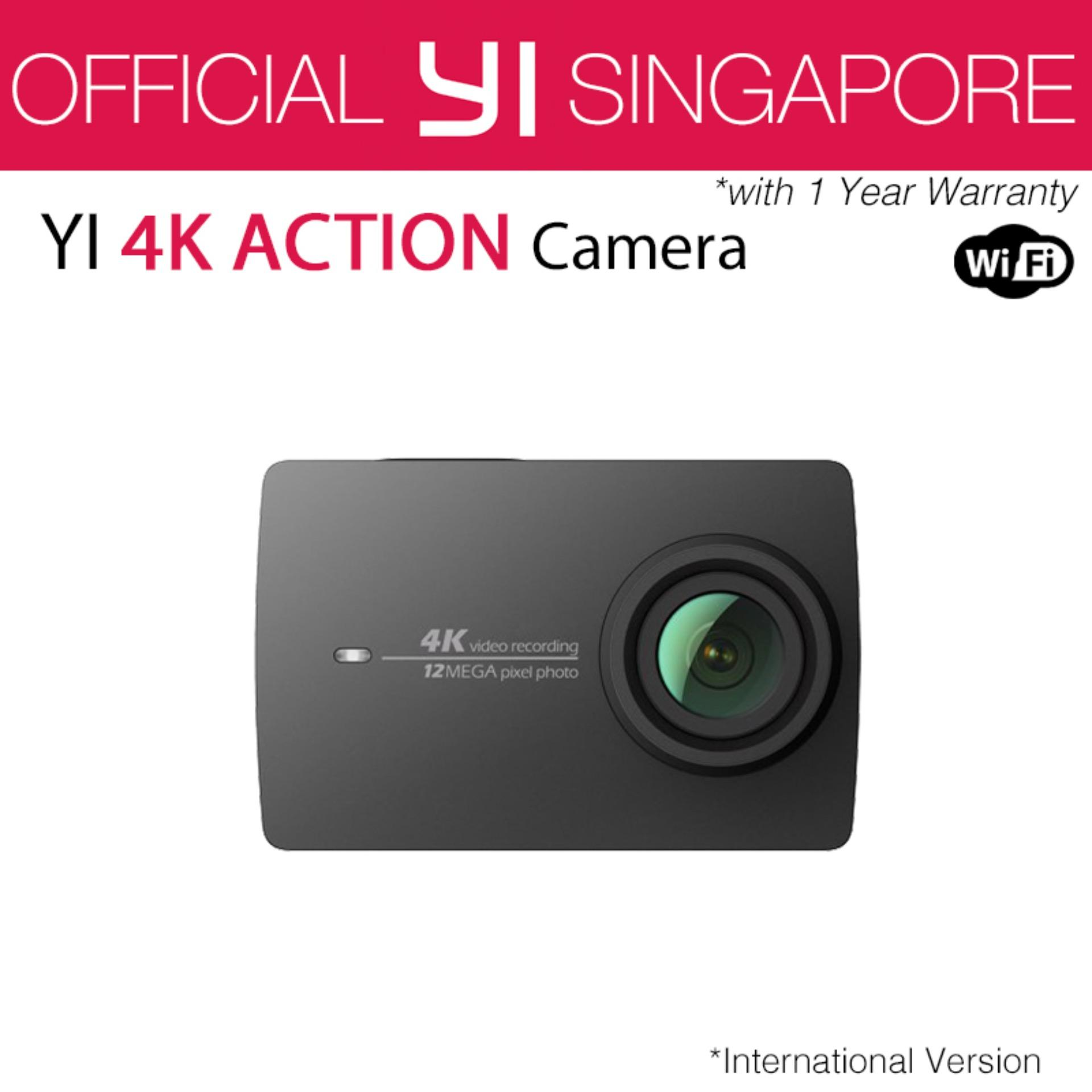 Official XiaoYi Yi 4K Action Camera 2 (Black) International English Version