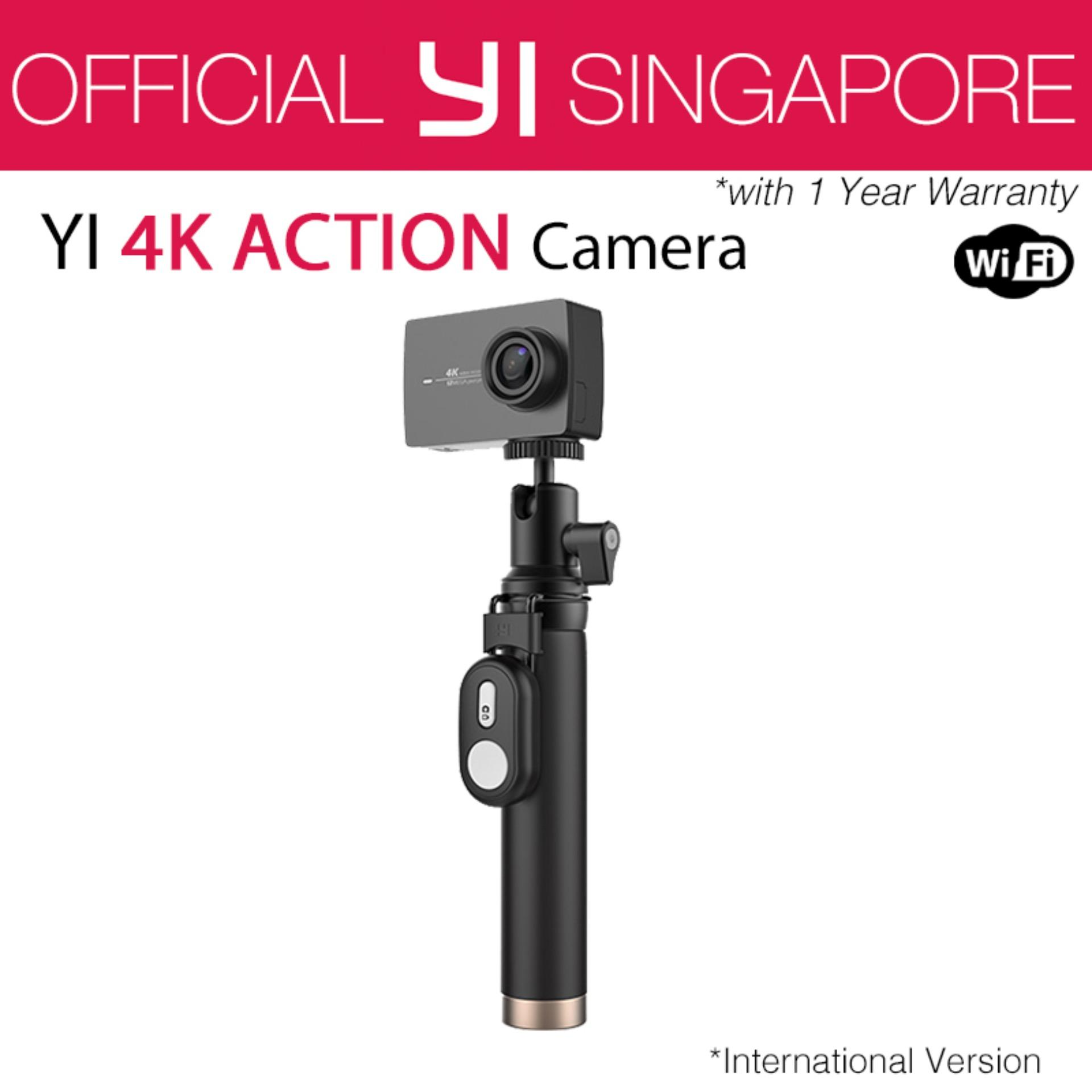 Official XiaoYi Yi 4K Action Camera 2 Kit (Black) International English Version