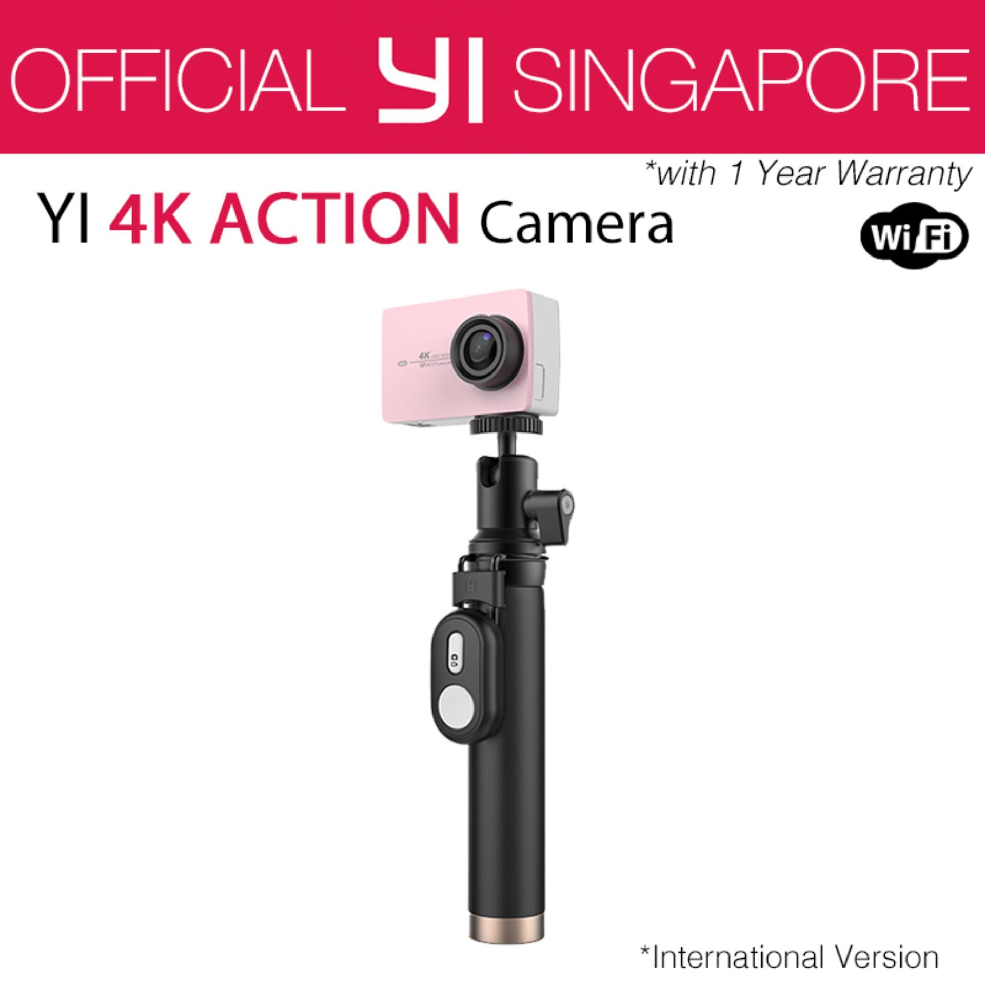 Official XiaoYi Yi 4K Action Camera 2 Kit (Rose Gold) International English Version