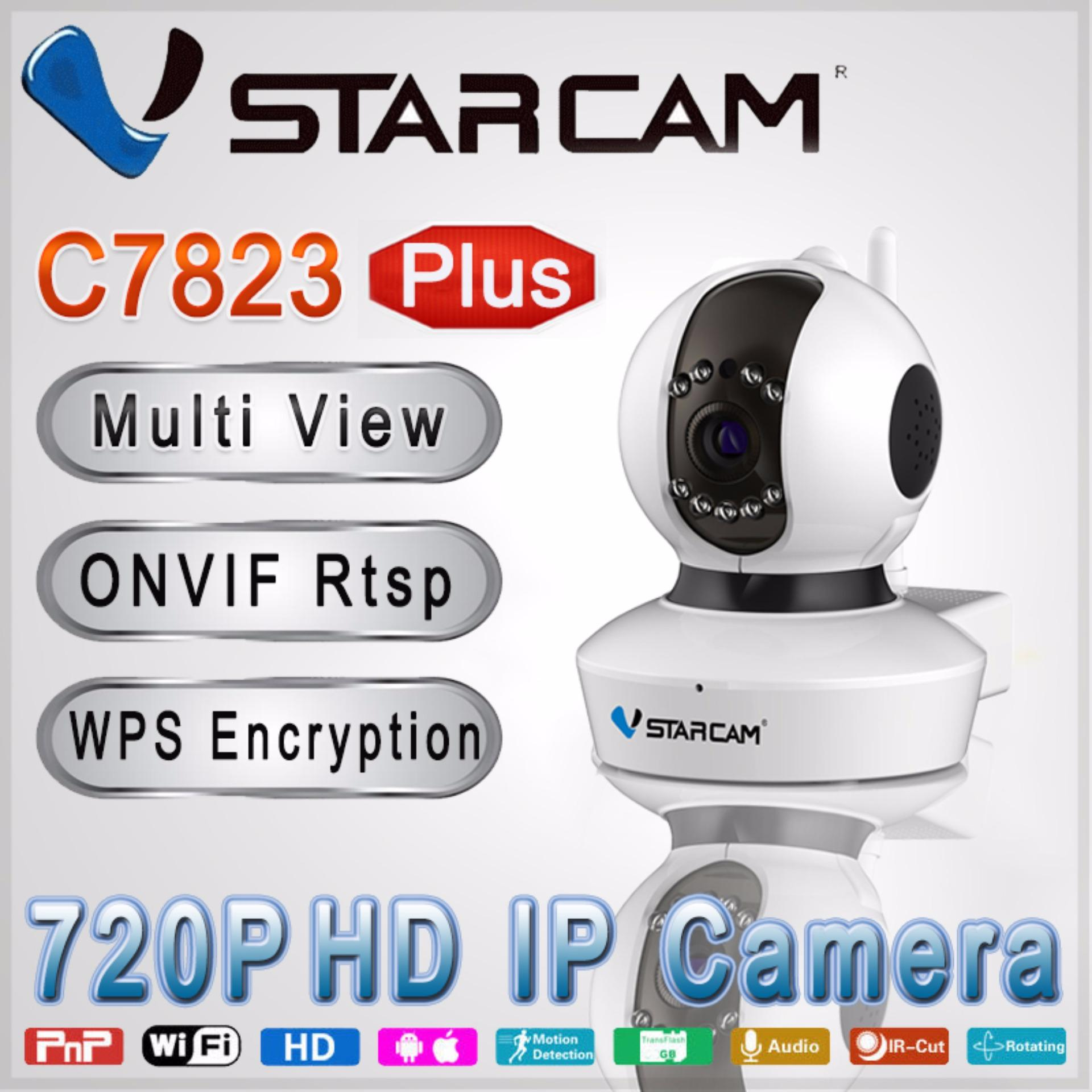 [OFFICIAL]Vstarcam HD 720P C7823WIP Plus CCTV PNP/P2P IP Camera Camcorder Pan/Tilt micro SD