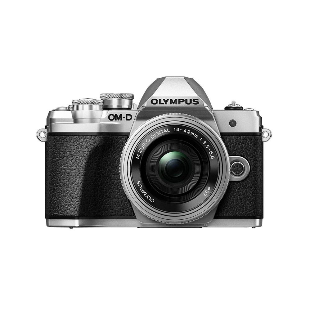 Olympus OM-D E-M10 Mark III camera kit with 14-42mm EZ lens (silver) Warranty