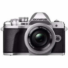 Olympus OM-D E-M10 Mark III SLK Mirrorless Micro Four Thirds Digital Camera with 14-42mm EZ Lens (Silver)