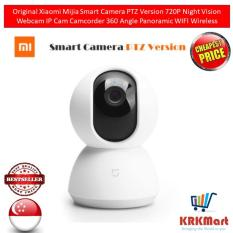Original Xiaomi Mijia Smart Camera PTZ Version 720P Night Vision Webcam IP Cam Camcorder 360 Angle Panoramic WIFI Wireless