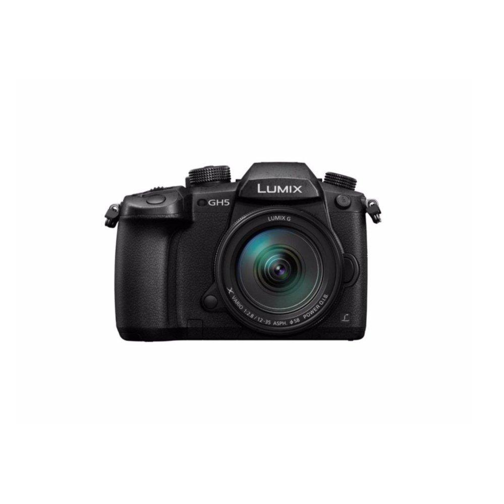 Panasonic GH5 with12-35mm F2.8 MkII Kit Black (Black)