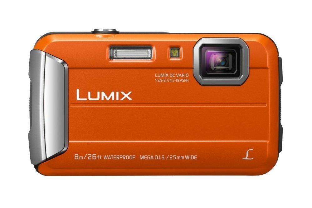 Panasonic Lumix DMC-FT30 16MP 4x Orange