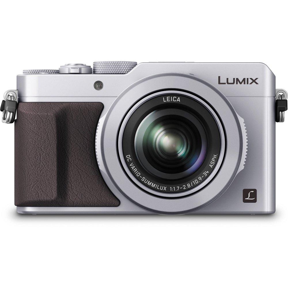 Panasonic LX100 Lumix 4K 12.8MP Digital Camera Silver
