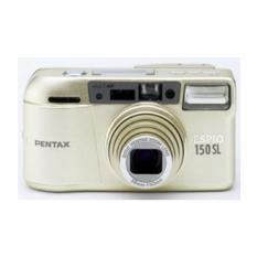 Pentax Espio 150SL Point & Shoot Film Camera Gold + Free Kodak Gold 200/36 Film