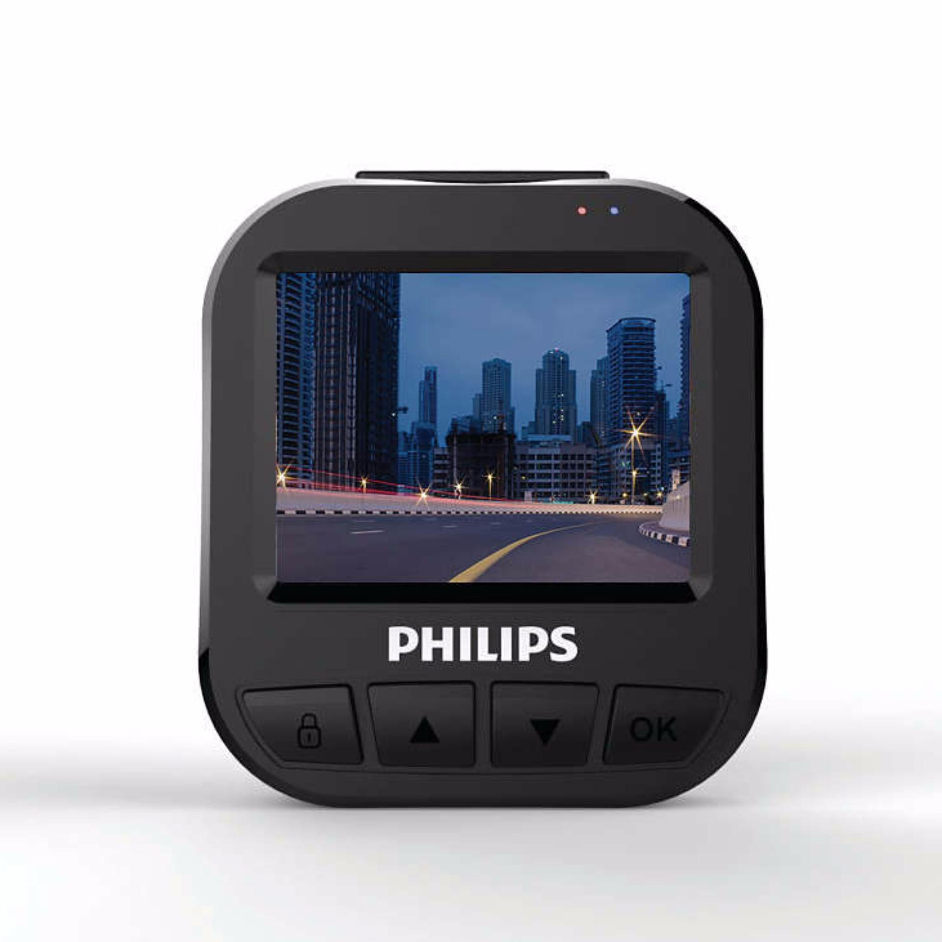 Philips Car Camera Driving Video Recorder Super Compact ADR620