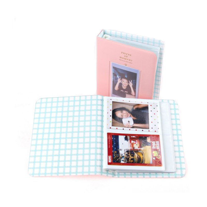 Piece of Moment Album for Instax Mini Film [ 64+ 1 Slot ] - Pink