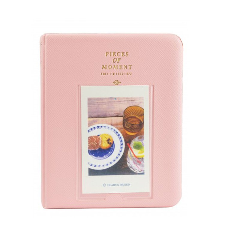 Piece of Moment Album for Instax Mini Film [ 64+ 1 Slot ] – Pink