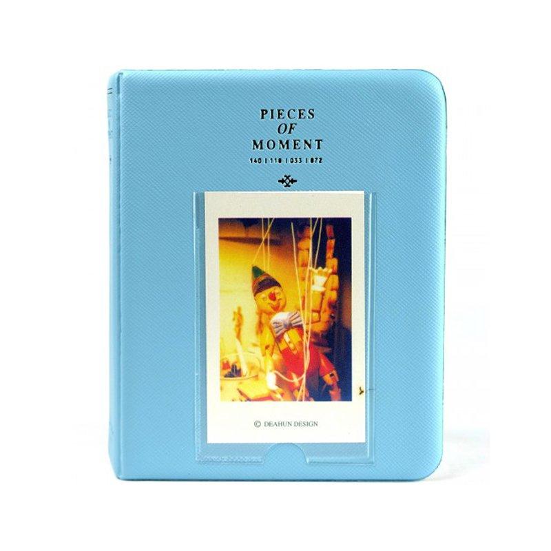 Piece of Moment Album for Instax Mini Film [ 64+ 1 Slot ] – Sky Blue