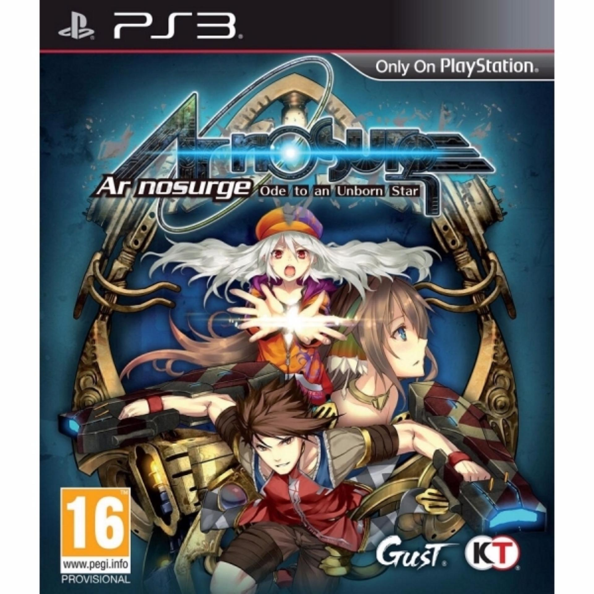 PS3 Ar Nosurge: Ode to an Unborn Star