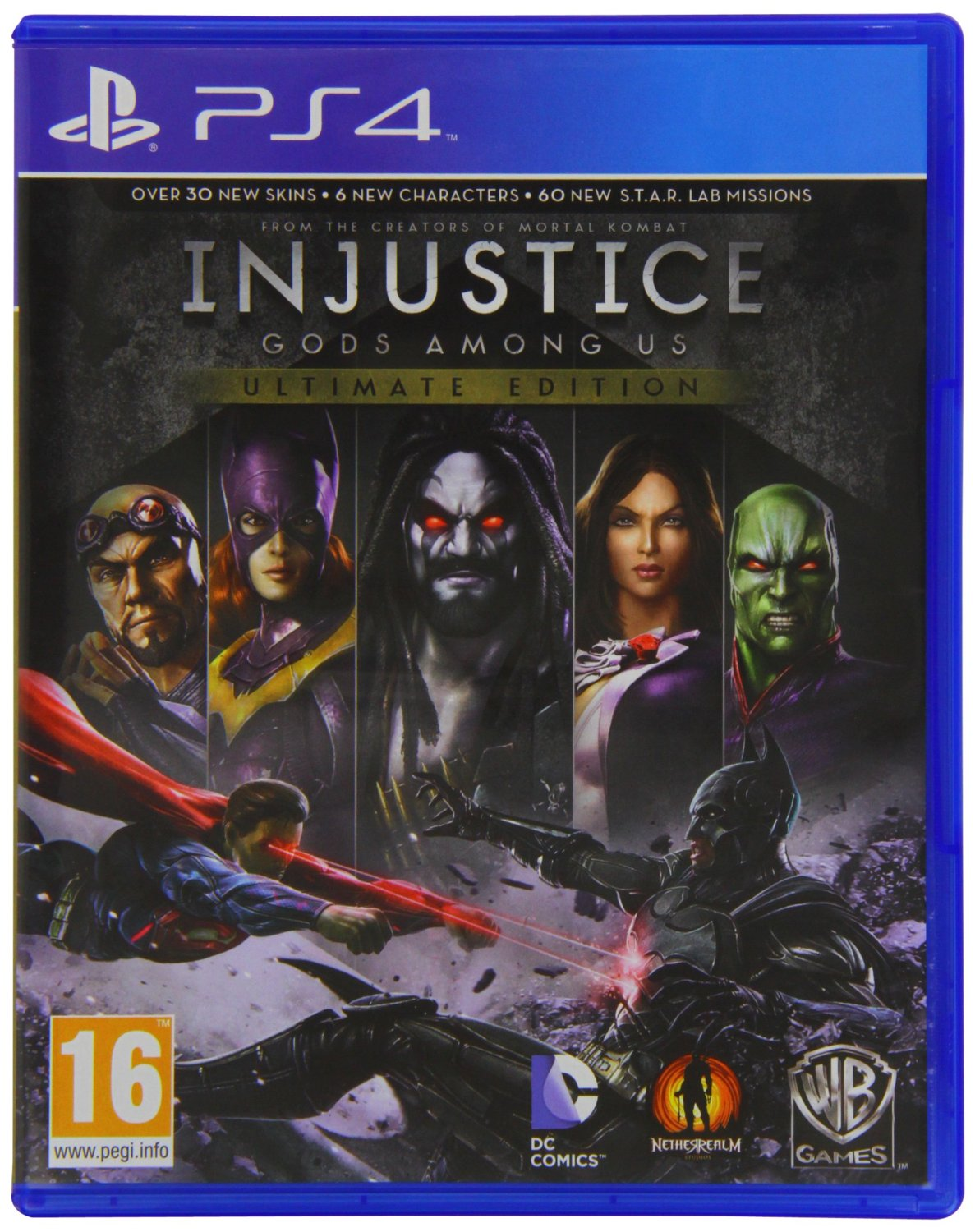 PS4 Injustice: Gods Among Us Ultimate Edition (R2)