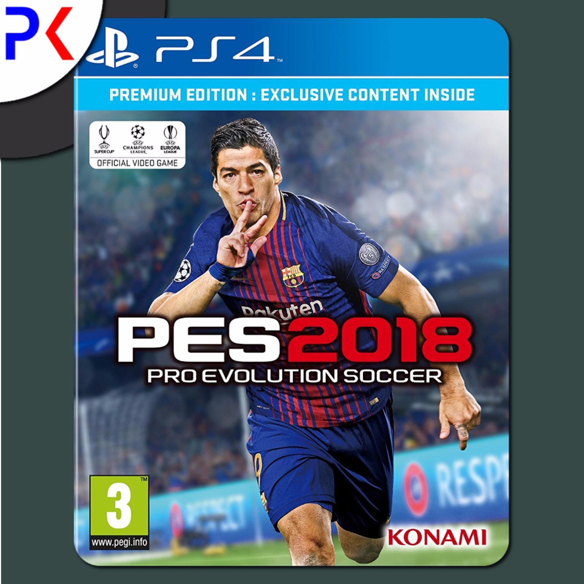 PS4 Pro Evolution Soccer 2018 Premium Edition (R2)