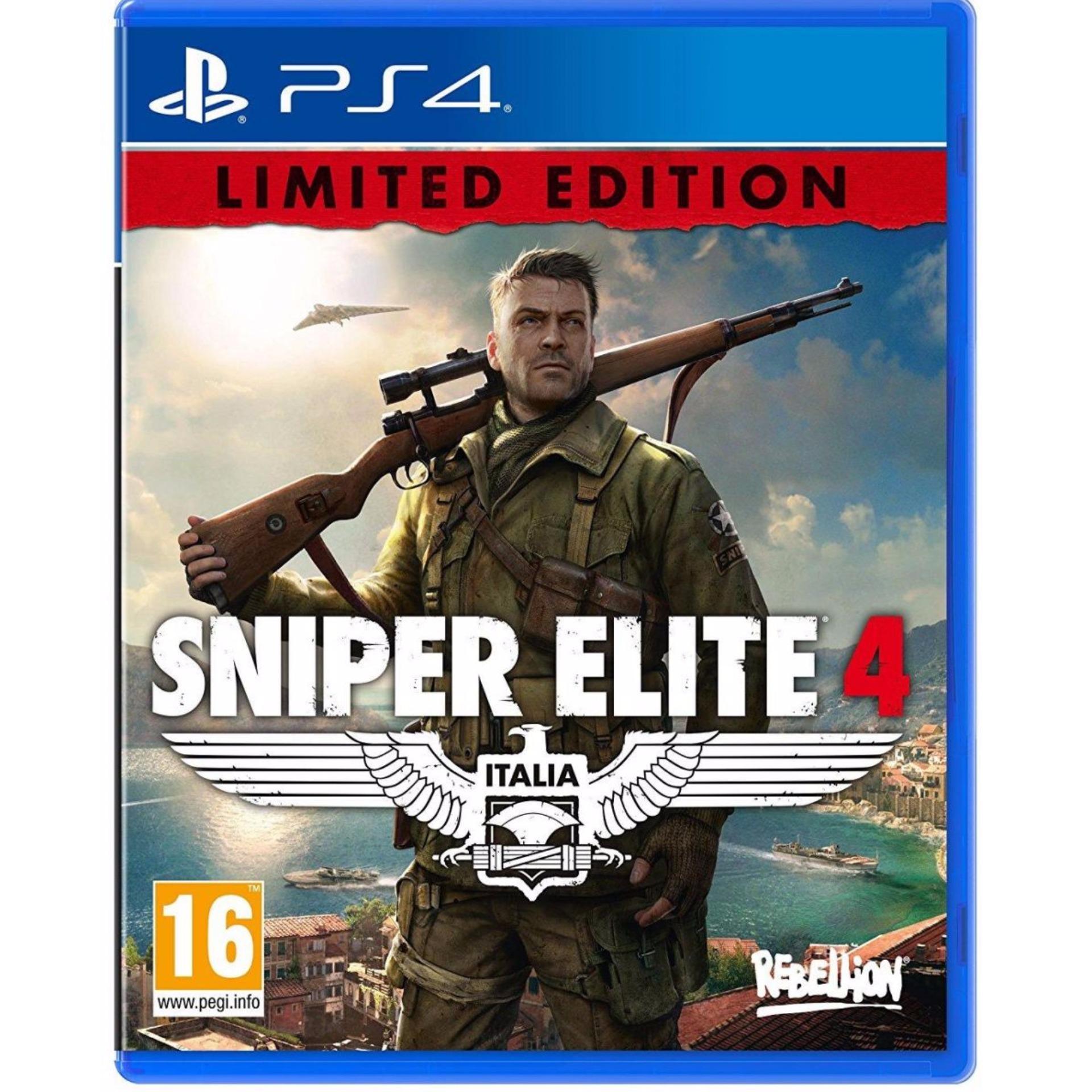 PS4 Sniper Elite 4: Italia – Limited Edition (R2)